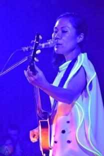 Deerhoof performs at Camp Wavelength in Toronto on August 18-20, 2017. (Photo: Justin Roth/Aesthetic Magazine)
