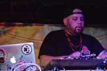 DJ Shub performs at Camp Wavelength in Toronto on August 18-20, 2017. (Photo: Justin Roth/Aesthetic Magazine)