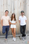 Dragonette poses for a portrait backstage at Big Feastival at Burl's Creek in Oro-Medonte, Ontario on August 20, 2017. (Photo: Curtis Sindrey/Aesthetic Magazine)