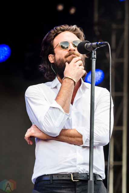 Father John Misty performs at Project Pabst in Portland, Oregon on August 26, 2017. (Photo: Kevin Tosh/Aesthetic Magazine)