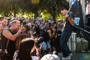 FIDLAR performs at Project Pabst in Portland, Oregon on August 26, 2017. (Photo: Kevin Tosh/Aesthetic Magazine)