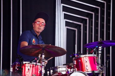 Fitz And The Tantrums perform at Budweiser Stage in Toronto on August 12, 2017. (Photo: Brandon Newfield/Aesthetic Magazine)