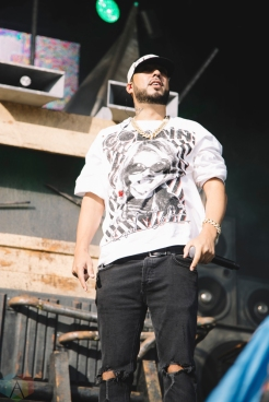 French Montana performs at Veld Music Festival in Toronto on August 6, 2017. (Photo: Stephan Ordonez/Aesthetic Magazine)