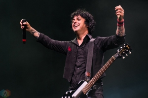 Green Day performs at Budweiser Stage in Toronto on August 18, 2017. (Photo: Lisa Mark/Aesthetic Magazine)