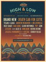 High And Low Festival Announces 2017 Lineup