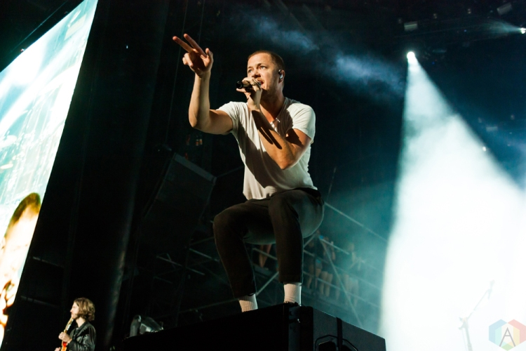 Imagine Dragons performs at Wayhome Festival on July 29, 2017. (Photo: Alyssa Balistreri/Aesthetic Magazine)