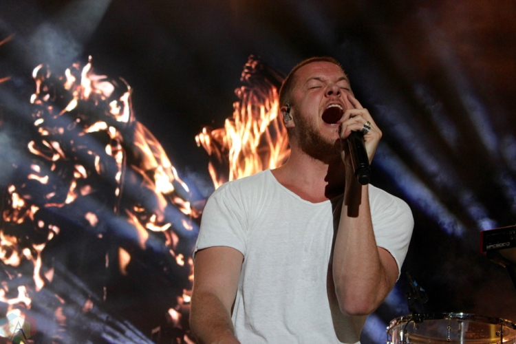 Imagine Dragons performs at Wayhome Festival on July 29, 2017. (Photo: Curtis Sindrey/Aesthetic Magazine)