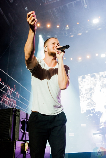 Imagine Dragons performs at Wayhome Festival on July 29, 2017. (Photo: Alyssa Balistreri/Aesthetic Magazine)