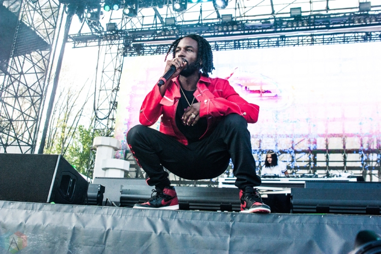 Jazz Cartier performs at Wayhome Festival on July 29, 2017. (Photo: Alyssa Balistreri/Aesthetic Magazine)