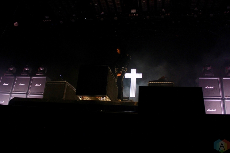 Justice performs at Wayhome Festival on July 28, 2017. (Photo: Curtis Sindrey/Aesthetic Magazine)