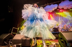 Kate Nash performs at the O2 Ritz Manchester in Manchester on August 4, 2017. (Photo: Sabrina Ramdoyal/Aesthetic Magazine)