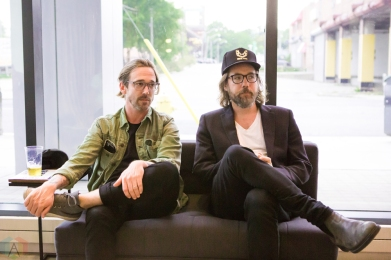 Kevin Drew, and Ben Kowalewicz attend the A&R Angels roundtable at Crow's Theatre in Toronto on August 30, 2017. (Photo: Katrina Lat/Aesthetic Magazine)