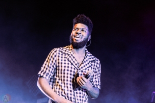 Khalid performs at Rebel in Toronto on August 9, 2017. (Photo: Alyssa Balistreri/Aesthetic Magazine)