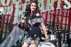 Lindi Ortega performs at Boots And Hearts on August 12, 2017. (Photo: Morgan Harris/Aesthetic Magazine)
