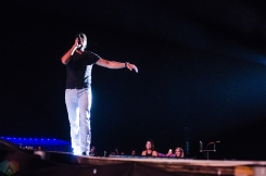 Luke Bryan performs at Boots And Hearts on August 13, 2017. (Photo: Morgan Harris/Aesthetic Magazine)