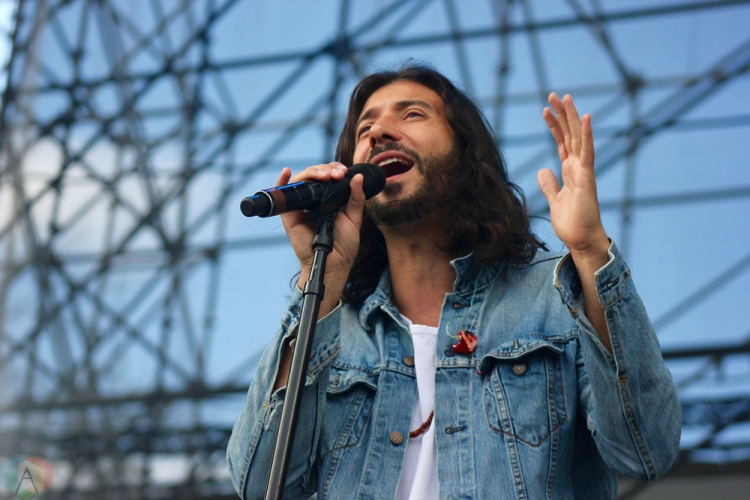 Magic performs at Big Feastival at Burl's Creek in Oro-Medonte, Ontario on August 19, 2017. (Photo: Curtis Sindrey/Aesthetic Magazine)