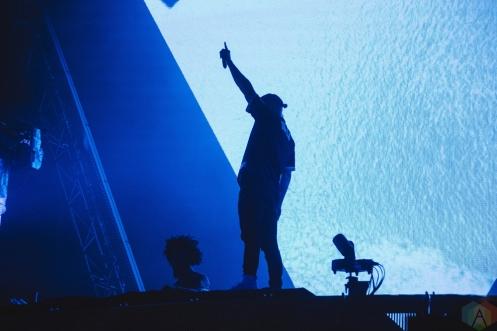 Major Lazer performs at Veld Music Festival in Toronto on August 6, 2017. (Photo: Stephan Ordonez/Aesthetic Magazine)