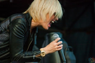 Phantogram performs at Wayhome Festival on July 28, 2017. (Photo: Alyssa Balistreri/Aesthetic Magazine)