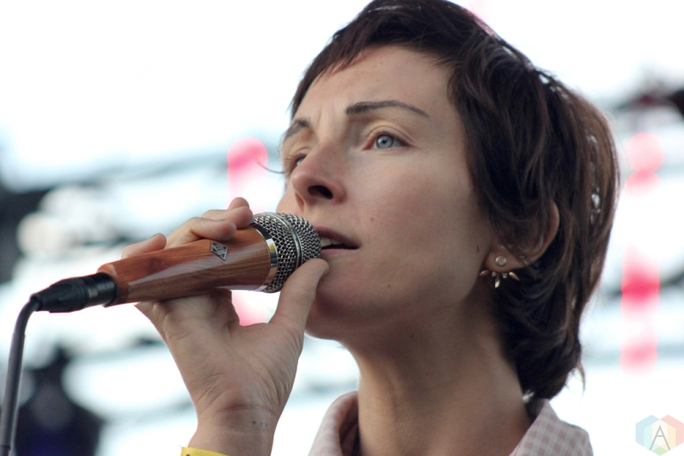 Polica performs at Wayhome Festival on July 28, 2017. (Photo: Curtis Sindrey/Aesthetic Magazine)