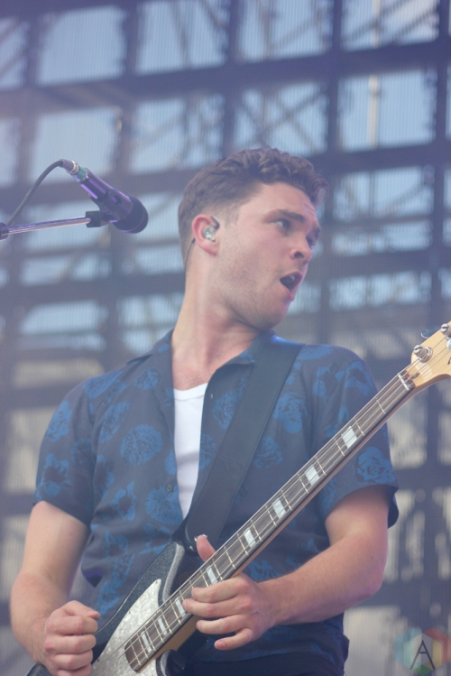 Royal Blood performs at Wayhome Festival on July 29, 2017. (Photo: Curtis Sindrey/Aesthetic Magazine)