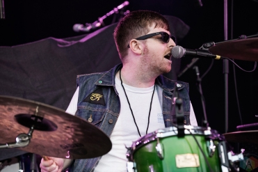 Sam Coffey And The Iron Lungs perform at CNE Bandshell in Toronto on August 29, 2017. (Photo: Theo Rallis/Aesthetic Magazine)