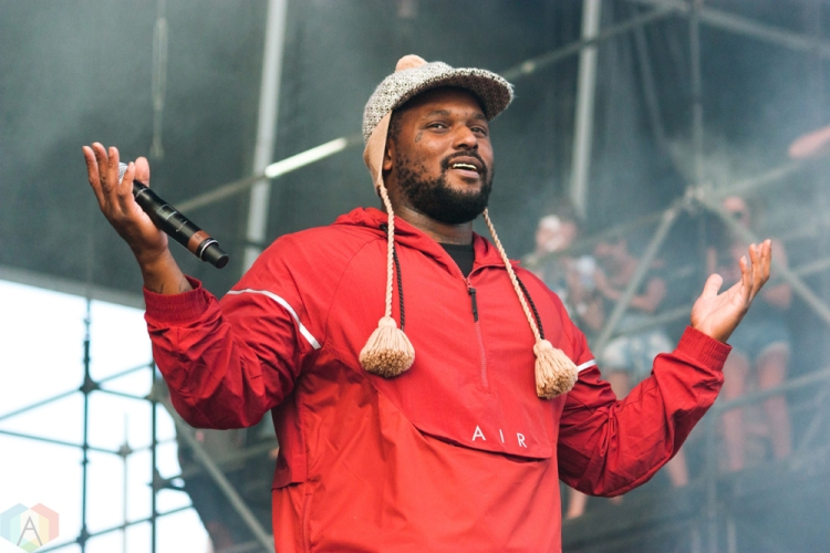 Schoolboy Q performs at Wayhome Festival on July 29, 2017. (Photo: Alyssa Balistreri/Aesthetic Magazine)