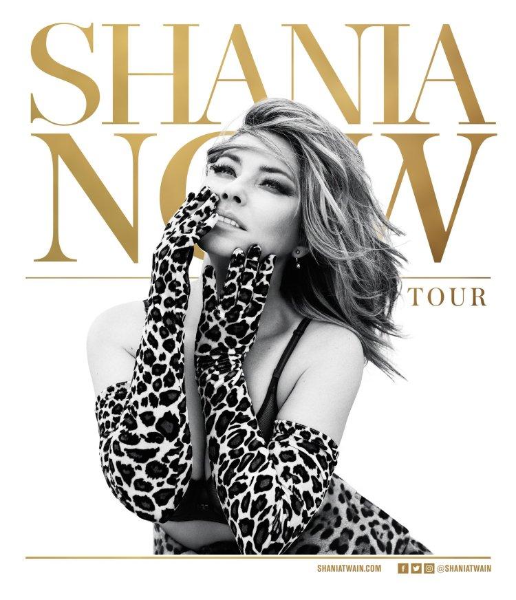 Shania Twain Now Tour 2018