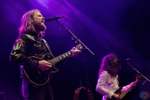 The Sheepdogs perform at CNE Bandshell in Toronto on August 29, 2017. (Photo: Theo Rallis/Aesthetic Magazine)
