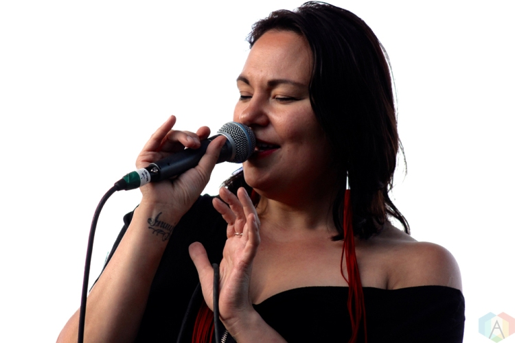 Tanya Tagaq performs at Wayhome Festival on July 28, 2017. (Photo: Curtis Sindrey/Aesthetic Magazine)