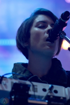 Tegan And Sara performs at Wayhome Festival on July 30, 2017. (Photo: Curtis Sindrey/Aesthetic Magazine)