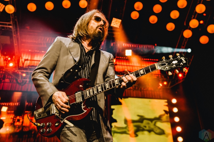 Tom Petty performs at Rogers Arena in Vancouver on August 17, 2017. (Photo: Timothy Nguyen/Aesthetic Magazine)