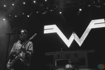 Weezer performs at Big Feastival at Burl's Creek in Oro-Medonte, Ontario on August 20, 2017. (Photo: Curtis Sindrey/Aesthetic Magazine)