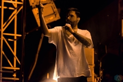 A Day To Remember performs at Riot Fest in Chicago on September 15, 2017. (Photo: Katie Kuropas/Aesthetic Magazine)
