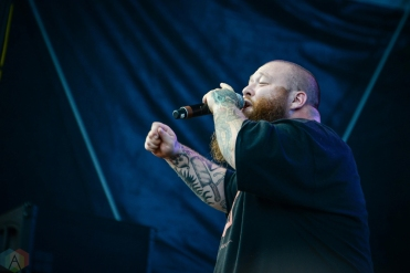 Action Bronson performs at Meadows Festival at Citi Field in New York City on September 17, 2017. (Photo: Alx Bear/Aesthetic Magazine)