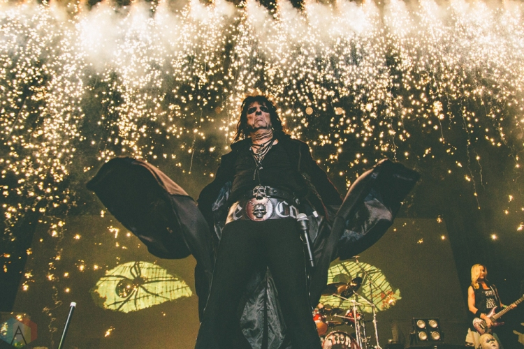 Alice Cooper performs at Budweiser Stage in Toronto on September 2, 2017. (Photo: Rick Clifford/Aesthetic Magazine)