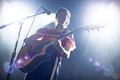 Bailen performs at The Mod Club in Toronto on September 20, 2017. (Photo: Sarah McNeil/Aesthetic Magazine)