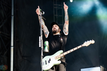 Bayside performs at Riot Fest in Chicago on September 16, 2017. (Photo: Katie Kuropas/Aesthetic Magazine)