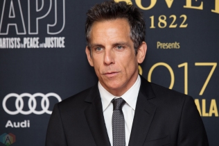 Ben Stiller attends the Artists For Peace And Justice gala at the Art Gallery of Ontario in Toronto on September 10, 2017 during the 2017 Toronto International Film Festival. (Photo: Brendan Albert/Aesthetic Magazine)