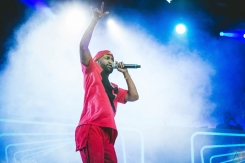 Big Sean performs at Bumbershoot in Seattle on September 1, 2017. (Photo: Daniel Hager/Aesthetic Magazine)