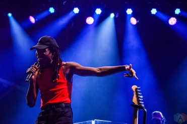 Blood Orange performs at Meadows Festival at Citi Field in New York City on September 15, 2017. (Photo: Alx Bear/Aesthetic Magazine)