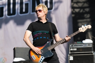 Buzzcocks performs at Riot Fest in Chicago on September 15, 2017. (Photo: Katie Kuropas/Aesthetic Magazine)