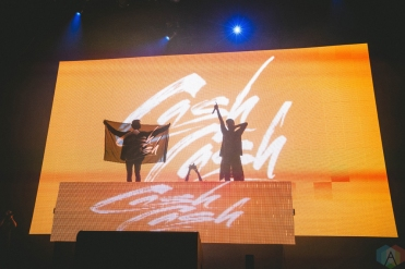 Cash Cash performs at Bumbershoot in Seattle on September 3, 2017. (Photo: Daniel Hager/Aesthetic Magazine)