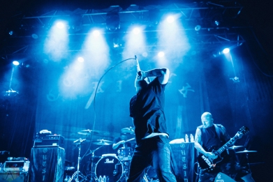 Comeback Kid performs at the Opera House in Toronto on September 20, 2017. (Photo: Harrison Haines/Aesthetic Magazine)