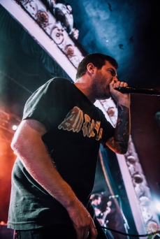Counterparts performs at the Opera House in Toronto on September 20, 2017. (Photo: Harrison Haines/Aesthetic Magazine)