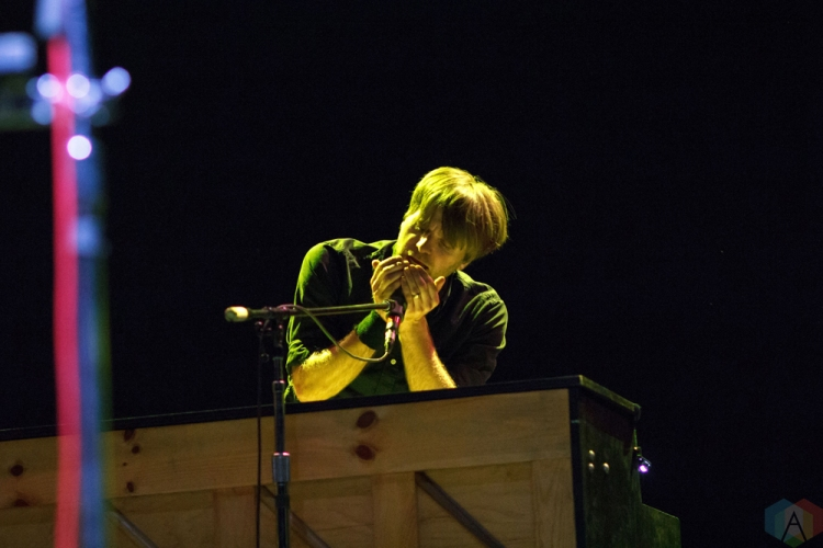 Death Cab For Cutie performs at High And Low Festival at the