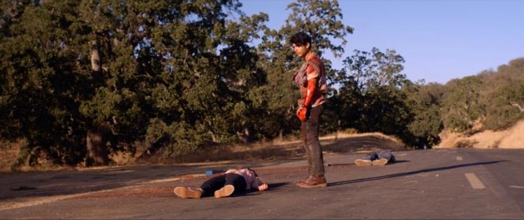 Downrange is acclaimed Japanese director Ryuhei Kitamura's newest film.