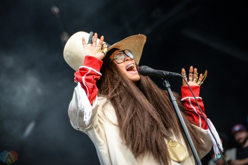 Erykah Badu performs at Meadows Festival at Citi Field in New York City on September 16, 2017. (Photo: Alx Bear/Aesthetic Magazine)