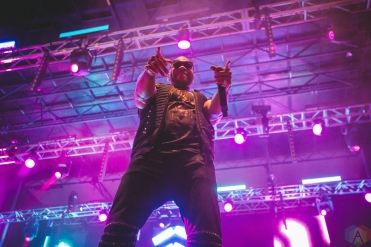 Flo Rida performs at Bumbershoot in Seattle on September 1, 2017. (Photo: Daniel Hager/Aesthetic Magazine)