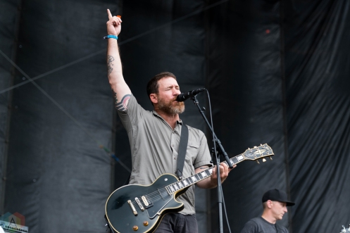Hot Water Music performs at Riot Fest in Chicago on September 17, 2017. (Photo: Katie Kuropas/Aesthetic Magazine)