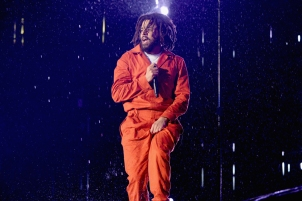 J. Cole performs at Made In America Festival at Benjamin Franklin Parkway on September 2, 2017 in Philadelphia, Pennsylvania. (Photo: Kevin Mazur/Getty)